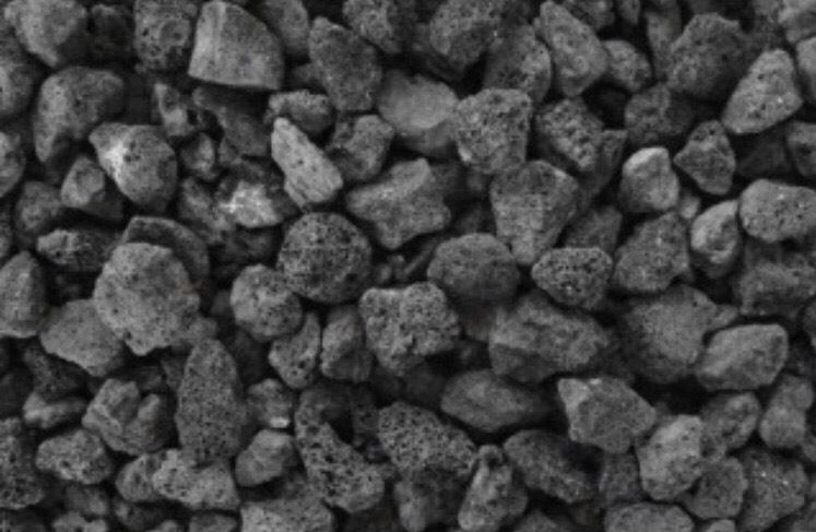 ホットストーンに使用する火山岩