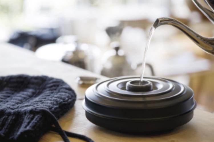 湯たんぽを使って体を温める