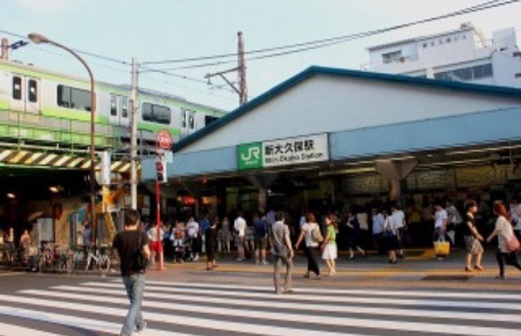 新大久保駅〜新宿のメンズエステPARTIREまでの案内情報