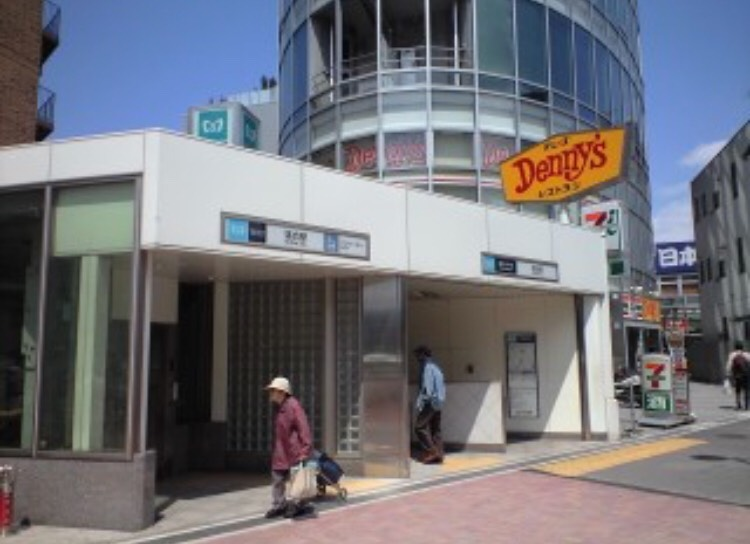 落合駅〜新宿のメンズエステPARTIREまでの案内情報