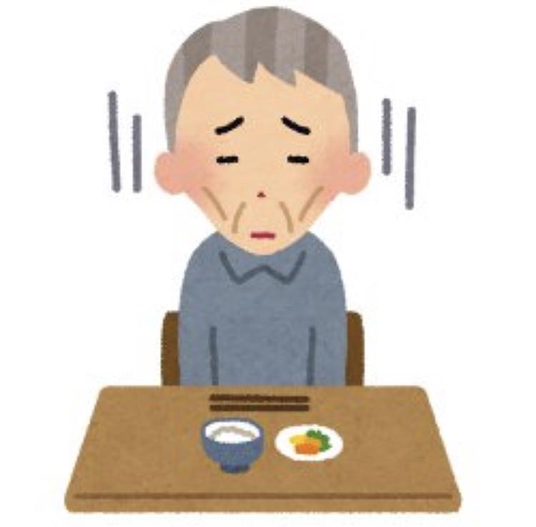食欲がないときは無理に食べない