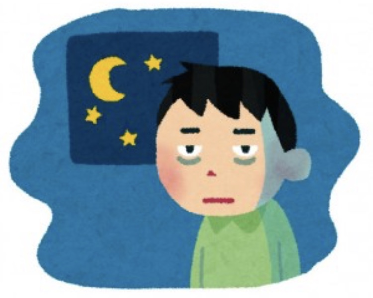 自律神経が乱れると不眠症になる