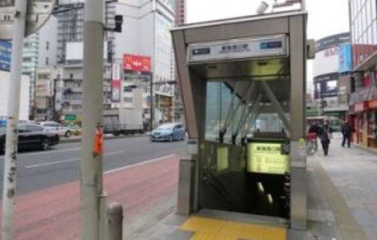 新宿西口駅〜新宿のメンズエステPARTIREまでの案内情報